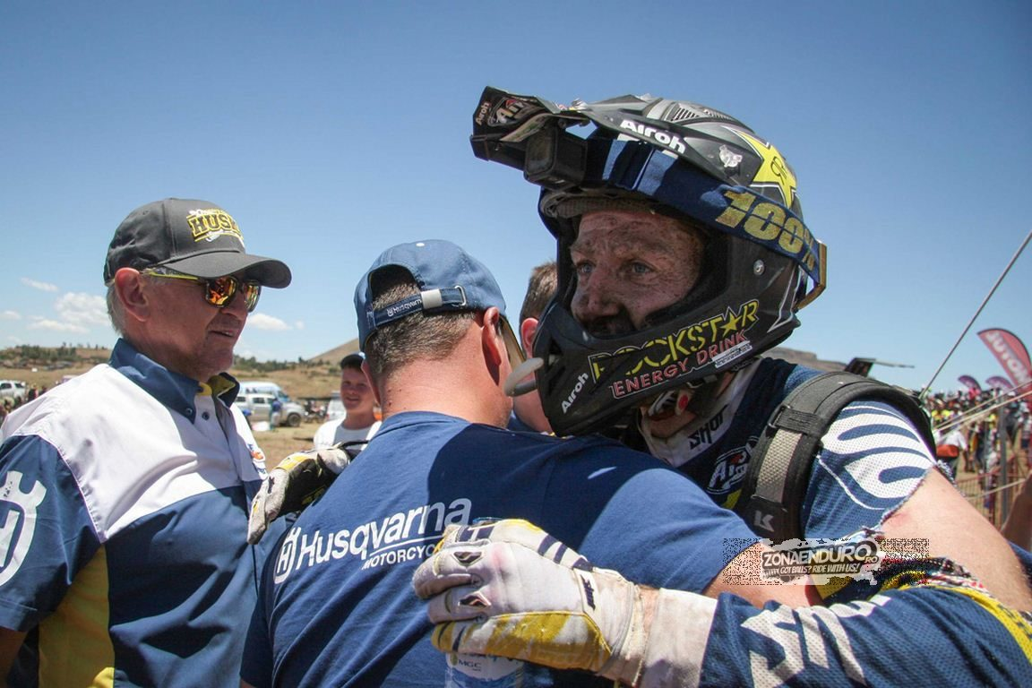 Graham Jarvis ended season 2015 amazingly by winning Roof of Africa